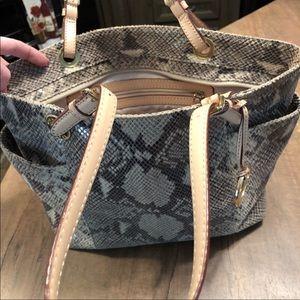 Michael Kors Purse snake skin